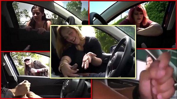 BLOWJOB,HANDJOB IN THE CAR