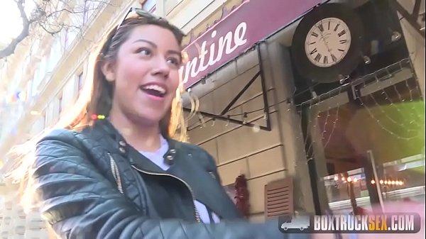 Katie Vasquez gets cum facial