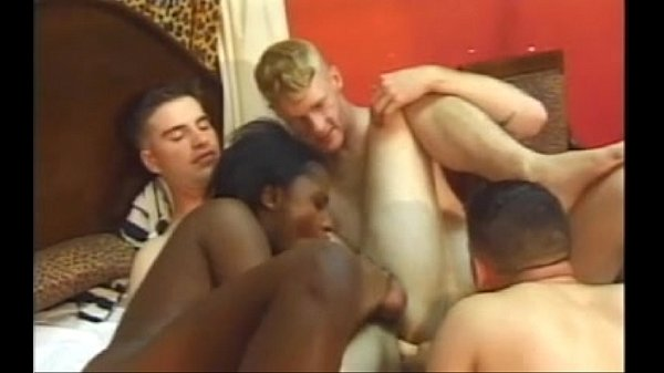 1,2,3 Bi White Guys & A Black Teen