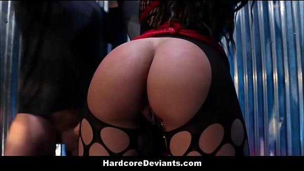 Latina MILF Big Ass And Tits Gets Destroyed Hardcore BDSM