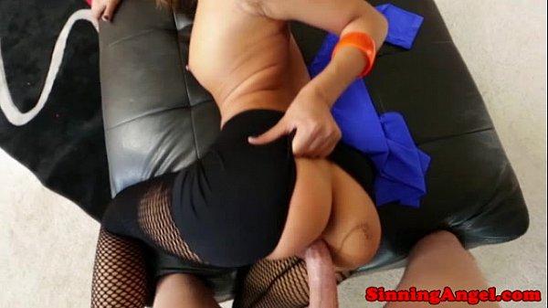 Pornstar Alina Li fucks and sucks