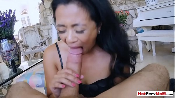 Fucking my small titted asian mature stepmother...