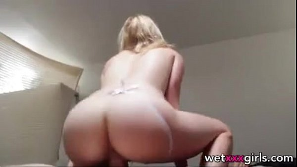 18 year old amateur blonde fucks her BF