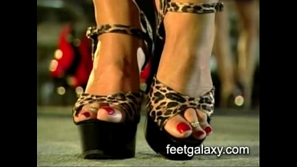 High heels and foot fetish