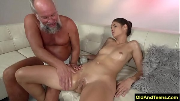 Old guy with girl