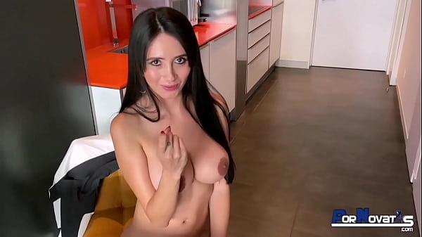 Colombian mom blowjob