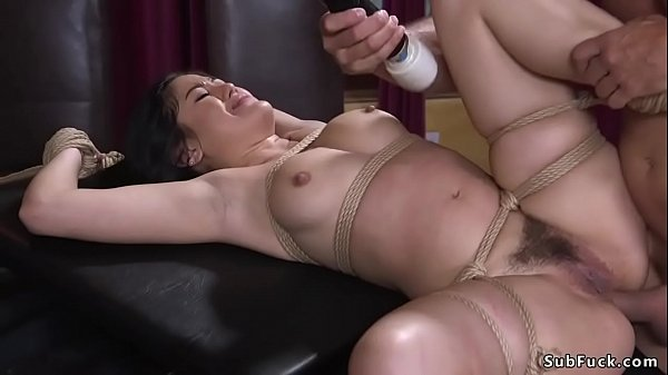 Clamped nipples Asian anal fucked bdsm