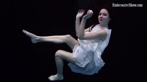 Mega hot underwater erotics with Andrejka