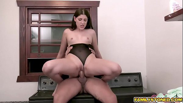 Miranda loves every inch of her stepdads man meat as it goe!s deeper inside her young muff
