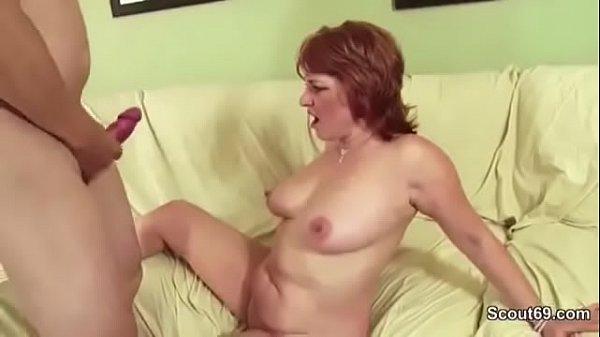 MILF m. Seduce Young Boy to Fuck When Husband away