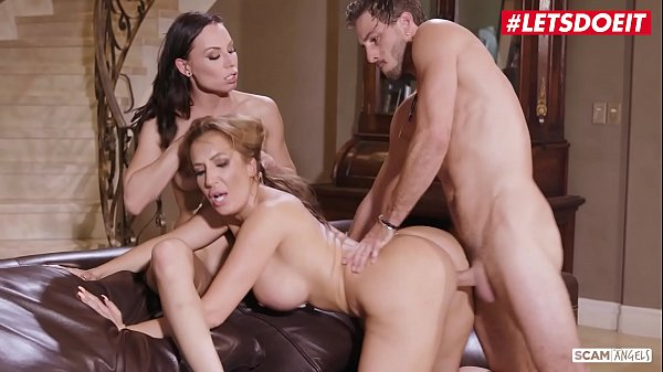 LETSDOEIT - Young Football Player Lucas Frost Fucks In Hot Threeway With Richelle Ryan And Aidra Fox