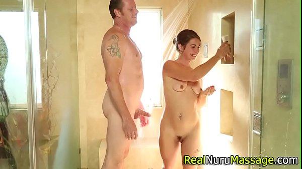 Tiny masseuse fuck finger