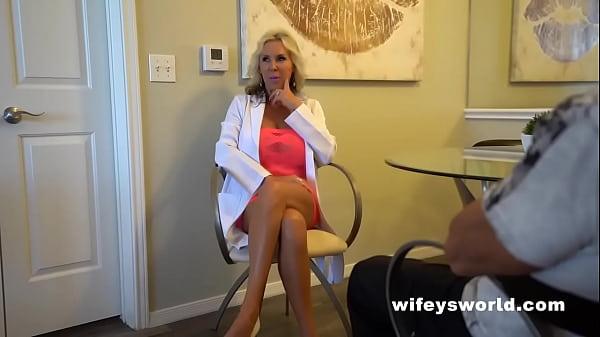 Dr Wifey Treats A Heavy Cummer To Tit Fuck