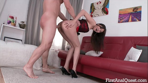 First Time Anal Porn with the Young & Sexy Alis...