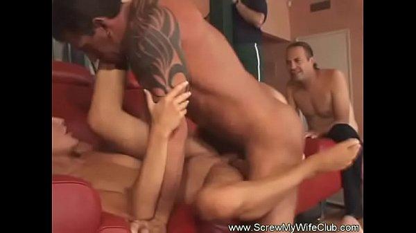 Hotwife Swinger Fucks Another Man