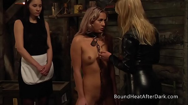 Gentle Groping And Inspection Of New Young Lesbian Slave