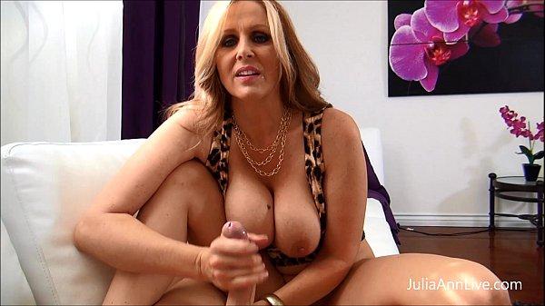 Julia Ann - Cum All Over My Big Tits!