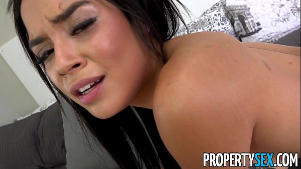 PropertySex - Landlord blackmailed into fucking his girlfriends y. sister