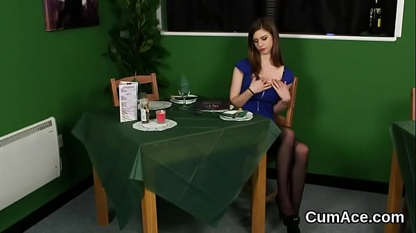 Wicked peach gets cumshot on her face gulping all the spunk