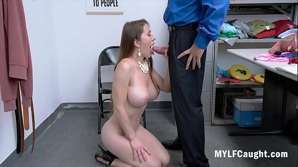 MILF Gets Caught Stealing And Gets Blackmailed ...