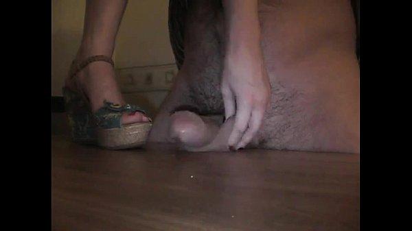 Cock and balls crushed ballbusting