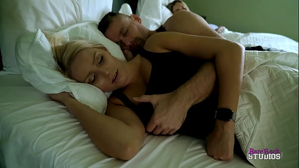 Step Daughter rests in Her Parents Bed and Fucks Dad - Vanessa Cage