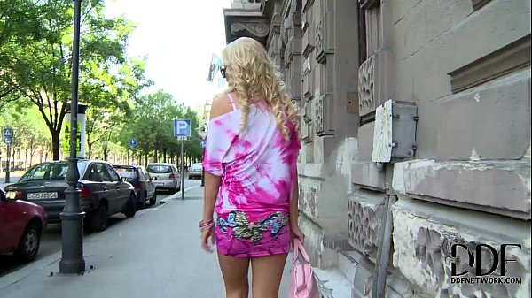 Hungarian Blonde Babe Vanda Lives The Ass Plug Lifestyle