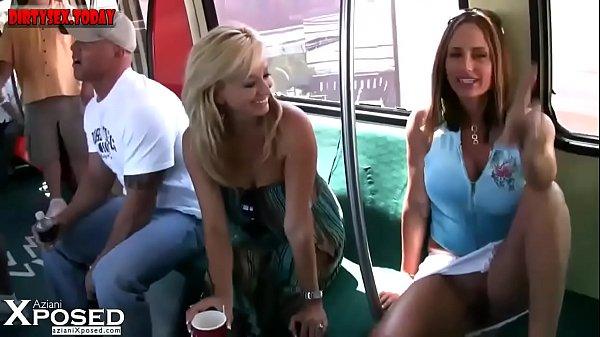 Aziani Xposed wild girls getting dirty in public