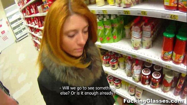 Fucking Glasses - Fucking a clueless redhead Renata teen porn