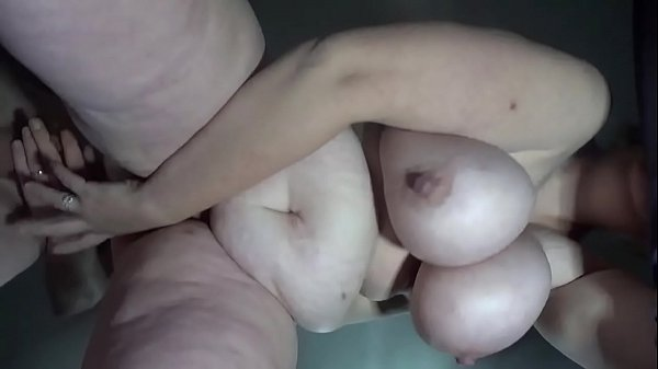 Bbw wife fucked from behind view from below...huge swinging tits....make this go viral