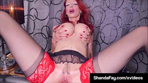 Smoking & Squirting Fans Enjoy As Housewife ShandaFay Fucks