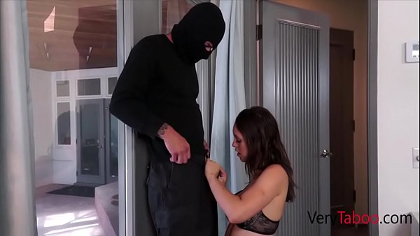 Jadenile's Stepdad reads her diary and makes her BURGLAR fantasy come true Thumb