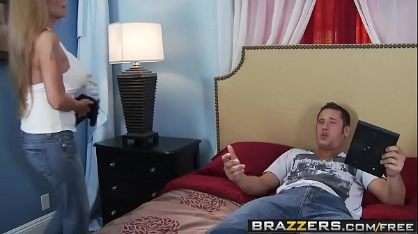 Brazzers - Mommy Got Boobs - Don't Cum on my Sheets scene starring Darla Crane & Danny Mou