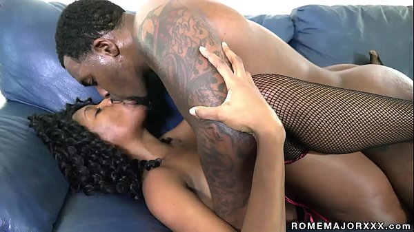 Ebony Slut Brandi Foxx Takes All of Rome Major