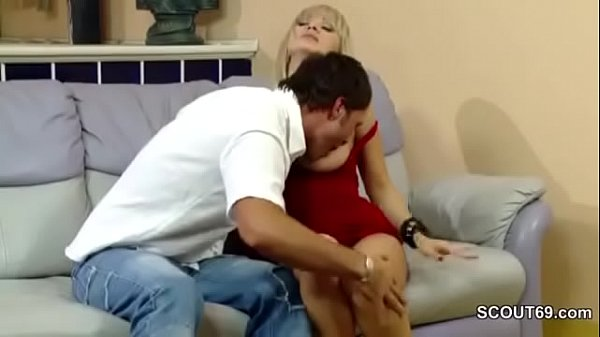 Hot MILF Mom Seduce to Fuck and Creampie by Step-Son Thumb