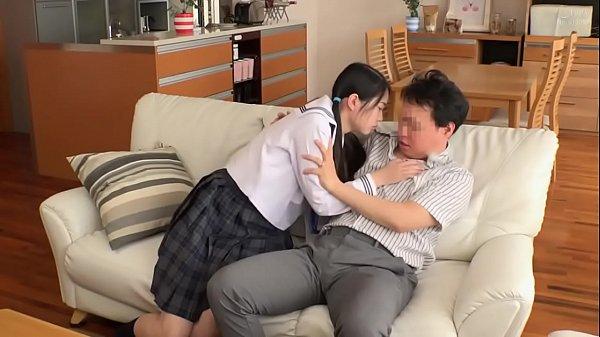 Young Petite Japanese Teen Manhandled & Fucks Step Dad Hard