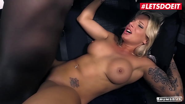 LETSDOEIT - (Samy Fox & Kookie Ryan) Sexy Blonde MILF Tastes BBC On The Van