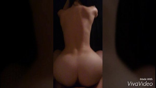 Brunette big butt fucked in doggystyle POV
