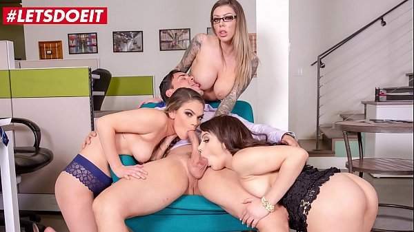 LETSDOEIT - #Valentina Nappi #Karma Rx #Athena Faris - Lucky Boss Gets To Fuck Hardcore With Three Sexy Secretaries