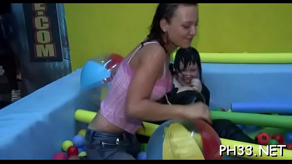 Drunk cheeks engulfing cock in club