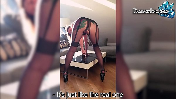 Wife Masturbate Pussy and Big Black Dildo after...