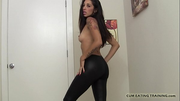 I might let you fuck me if you eat your own cum...