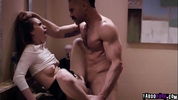Aggressive Teen Waitress Jill Kassidy seduces her married boss Charles