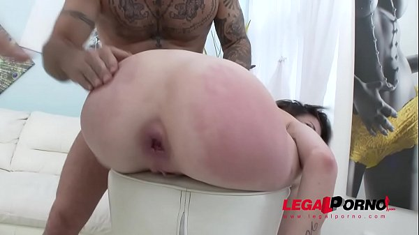 French slut Carla Rose welcome to Gonzo with DAP and Double Pussy