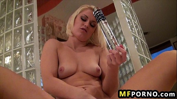 Freaky blonde will do anything to cum Ash Hollywood 6