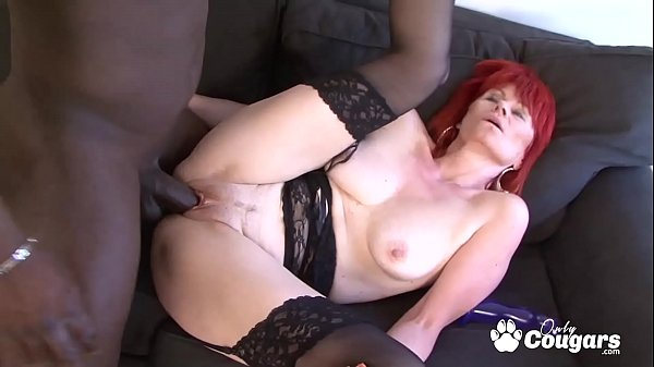 Patricie Has Her 50yo Butthole Drilled By A BBC