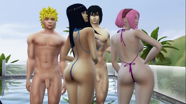 Wife Exchange With Hinata and Sakura Naruto Hentai Pool Day Download Game Here: http://bit.ly/GamerPran