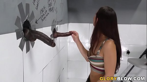 Aidra Fox Receives Creampie By A BBC at Gloryhole