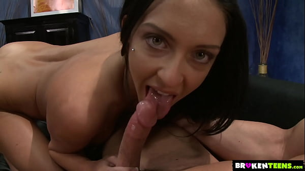 Stephanie Caine Rubs Her Clit To Cum On His Fat Cock
