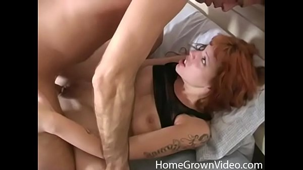 Cock craving redhead wants it deep in her fuck hole